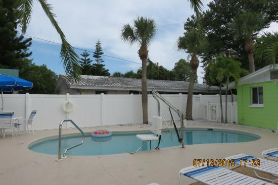 One Of Three Pools Picture Of Tropical Breeze Resort Siesta Key