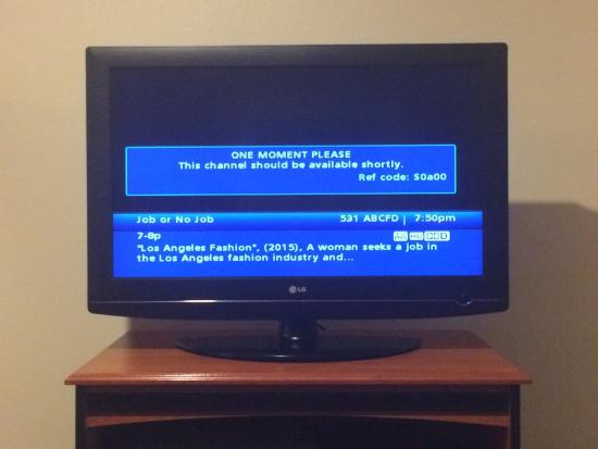 Holiday Inn Express Suites Alamosa: TV channels don't work