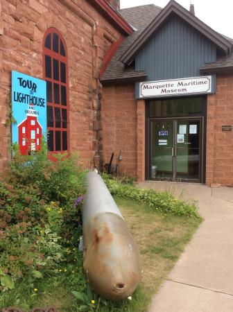 Marquette Maritime Museum: Entrance