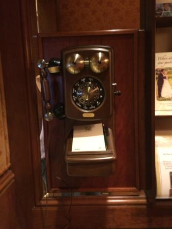 The Rose Hotel : The phone booth
