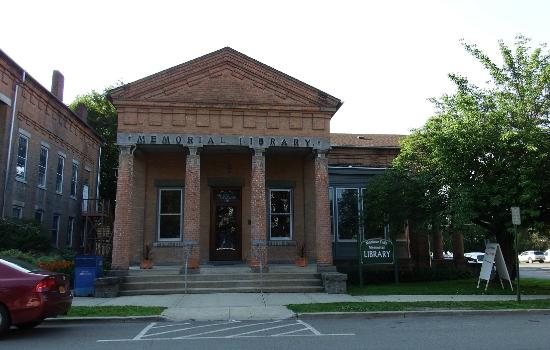 The Montour Falls Memorial Library - great architecture, great small town find!