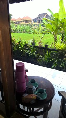 Ubud Sensasi Bungalow: back patio