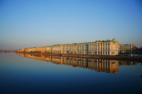 Musée de l'Ermitage : Зимний Дворец, весна