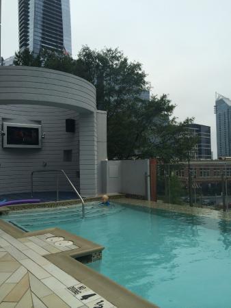 Rooftop Bar - Pi...W Hotel Atlanta Rooftop Pool