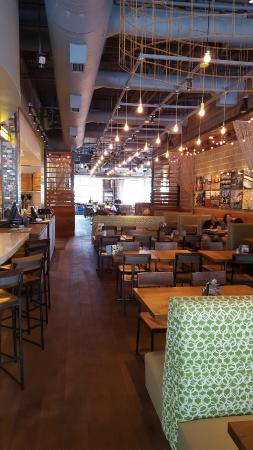 View Of The Dining Area Picture Of California Pizza Kitchen The Woodlands Tripadvisor