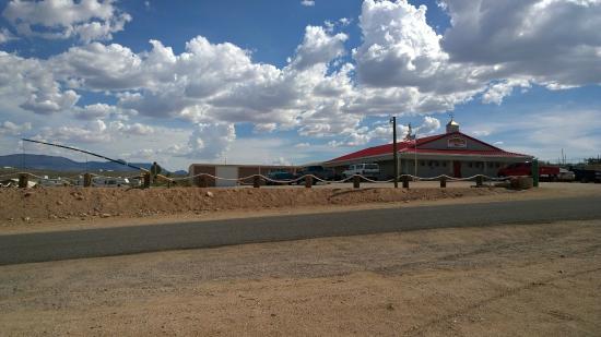 Canyon's End Motel: Die Bar im Zentrum