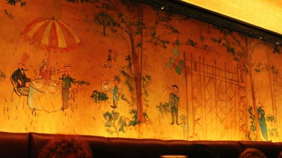 Bemelmans Bar Mural Of Winter Mural Picture Of Bemelmans Bar New York City