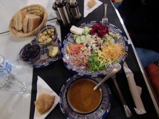 Chez Hichamの食事