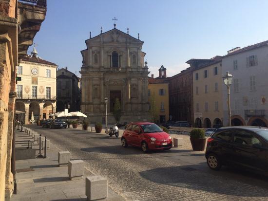 Chiesa della Missione: Chiesa de la Missione from Piazza Maggiore