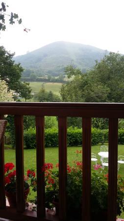 Hotel Irigoienea: Terraza