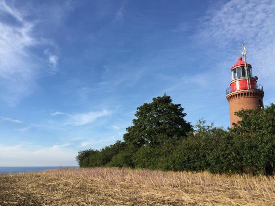 Bastorf, Alemania: Terrasse mit schöner Aussicht