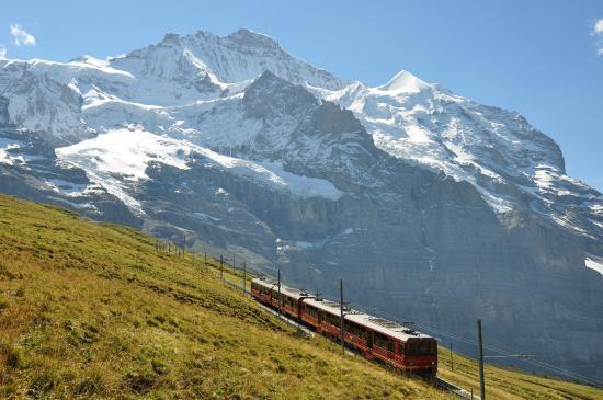 Berner Oberland, Schweiz: Jungfrau Railway and Jungfrau