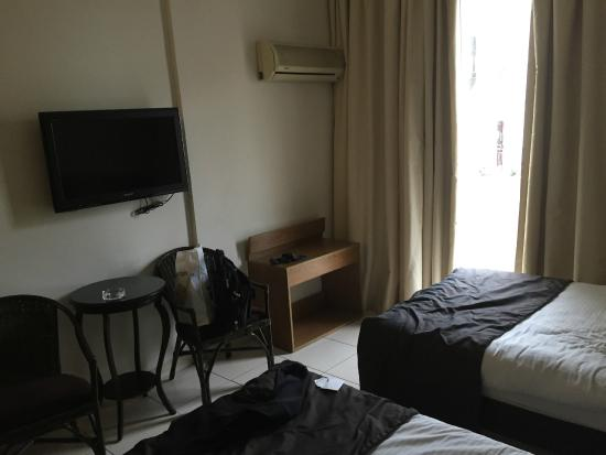Royal Garden Hotel: vue chambre
