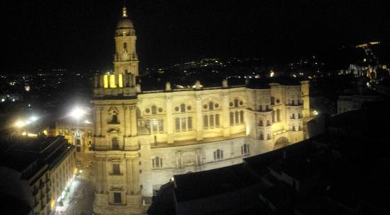 Vistas Desde La Terraza Fotografía De Ac Hotel Malaga
