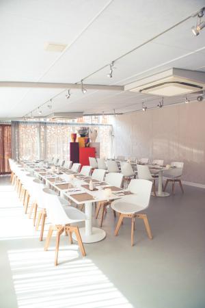 Spaans Dak: Interieur