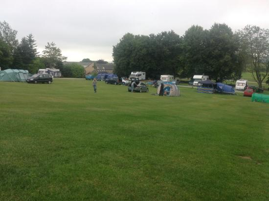 Barn Farm Camping: One of the three camping fields at the site
