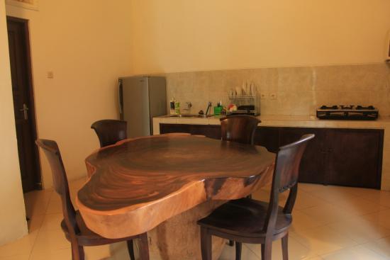 Villa Kubu Merta: ruang tamu