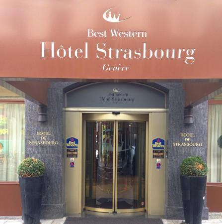 โรงแรมเบสท์เวสเทิร์น สตราสบูร์ก