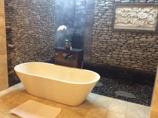 Vasche Da Bagno Jacuzzi Confronta Prezzi : Vasca da bagno e doccia all aperto foto di sri ratih cottages