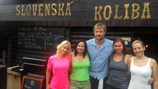 Slovenská Koliba Jasná: Velmi příjemný pan majitel