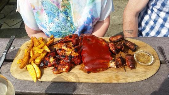 Blackburn, UK: Sticky Platter