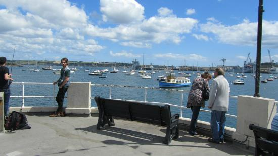 Narrowcliff Hotel: Falmouth Harbour