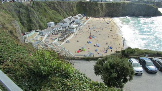 Narrowcliff Hotel: Tolcarne Bay Newquay