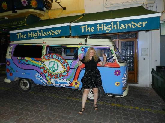 The Highlander Scottish Bar Ibiza: Highlander 2014