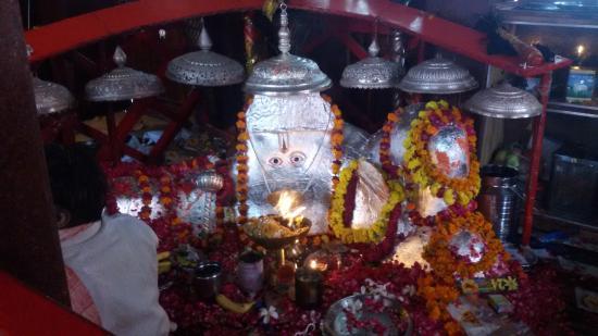 Hanuman ji, Pandupol temple, Sariska