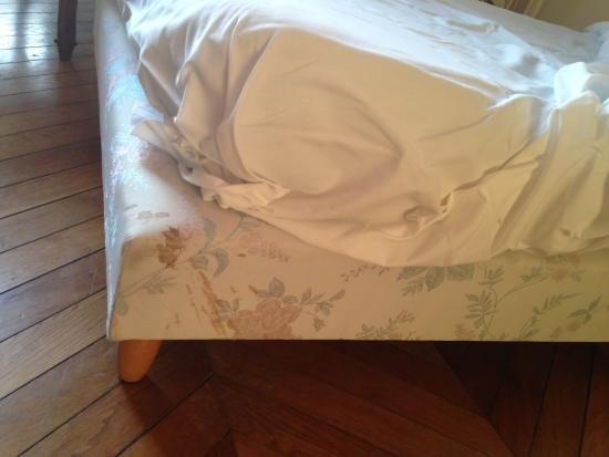 Chateau du Corvier : No idea what that is on the bed