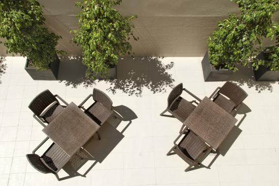 HCC Lugano: Terrace