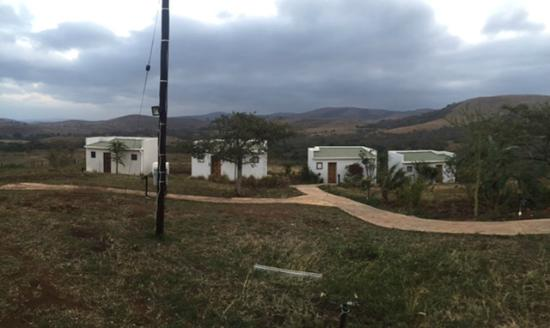 Maputaland Adventures: Deserted and unsafe (broken gate at the entrance)