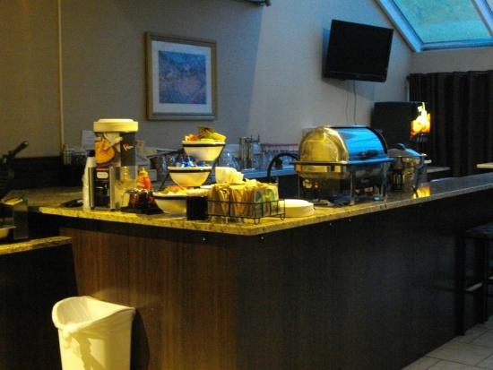 Best Western Resort Hotel & Conference Center: Breakfast Area
