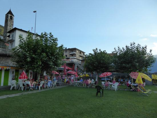 San Nazzaro, Suiza: crowded in summer
