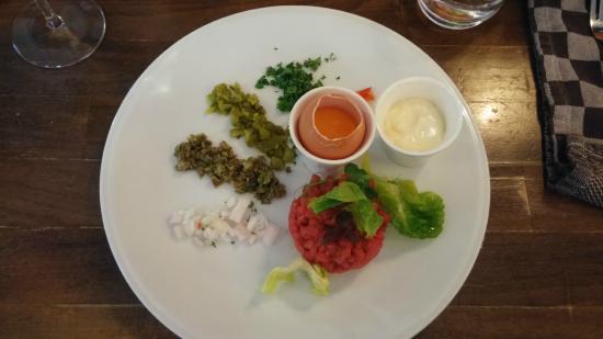 le Virage: Steak tartaar