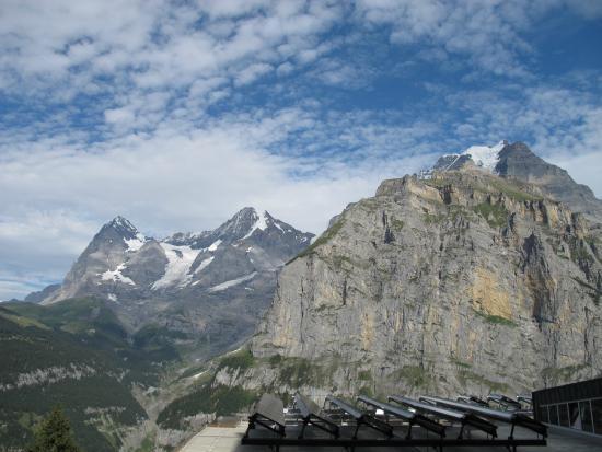 Eiger Guesthouse: Eiger, Mönch et Jungfrau