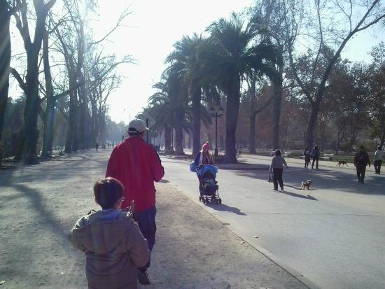 Parque Quinta Normal: Ingreso al parque
