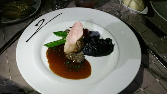 filet mignon de porc photo de restaurant la table d 39 yvan. Black Bedroom Furniture Sets. Home Design Ideas