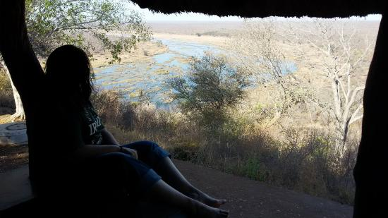 Olifants Rest Camp: View from the balcony
