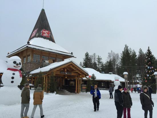Santa Claus Village: de woning van de kerstman
