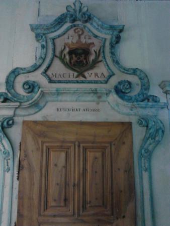 Benedictine Convent of Saint John Müstair: Müstair Museum des Klosters St. Johann: Portal der Ursula von La Planta
