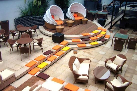 east Restaurant - Dedon Island - Terrace