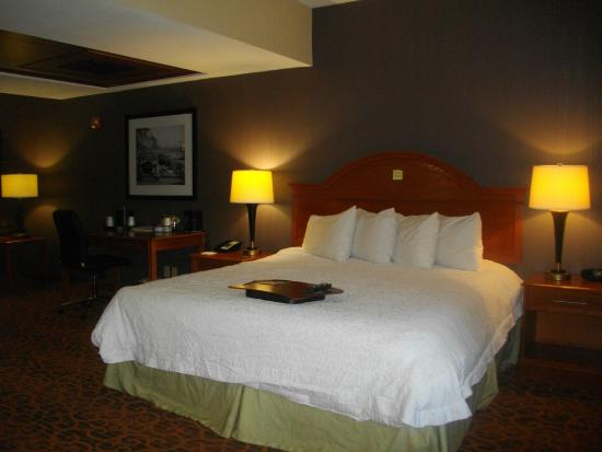 Hampton Inn and Suites San Clemente: Comfortable bed