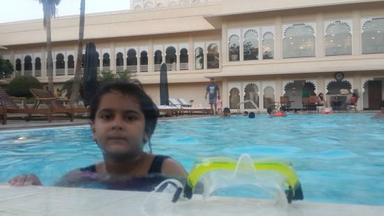 Trident Udaipur : pool