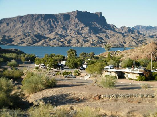 Overlooking The Campground Picture Of Cattail Cove State
