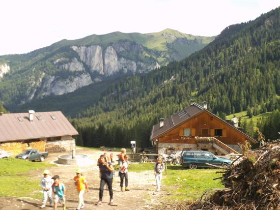 Malga Monzoni : Panoramica rifugio
