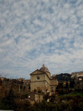 Santa Maria del Calcinaio: vista