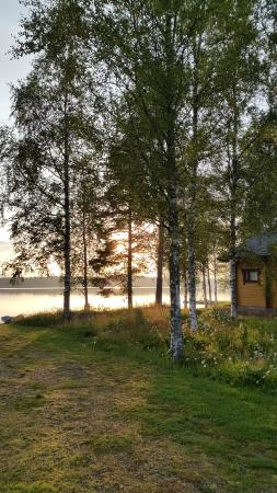 Région de l'Ostrobotnie du Nord, Finlande : cottage and lake
