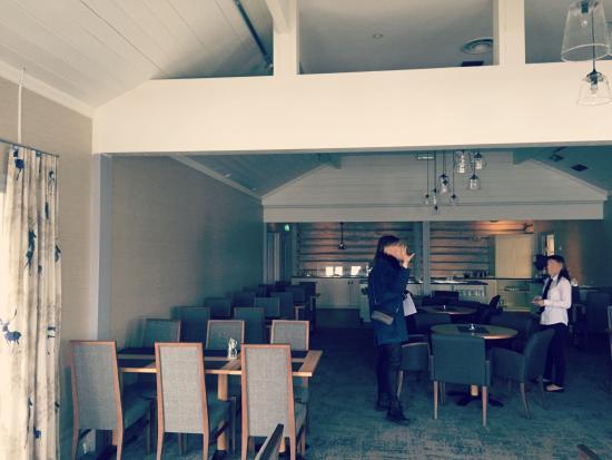 Saebo, Norwegia: Spisesalen.