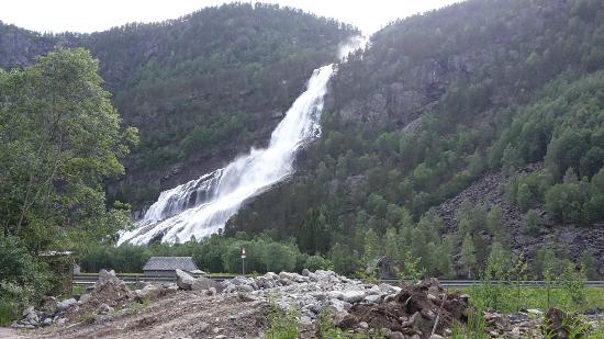 Vidfossen Waterfall